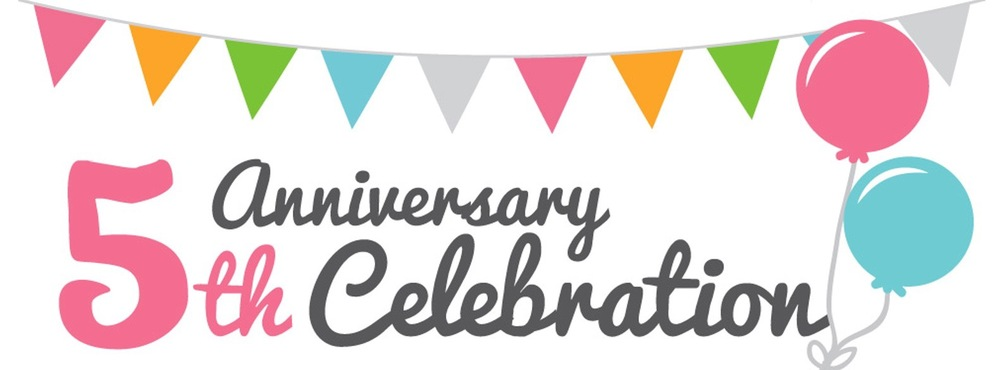 Celebrating 5th Anniversary with us!